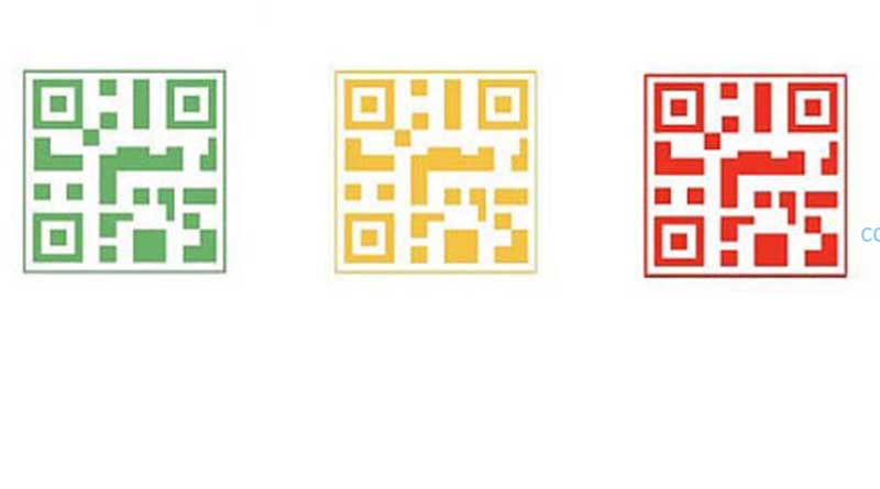 My green health QR code has turned to yellow what to do