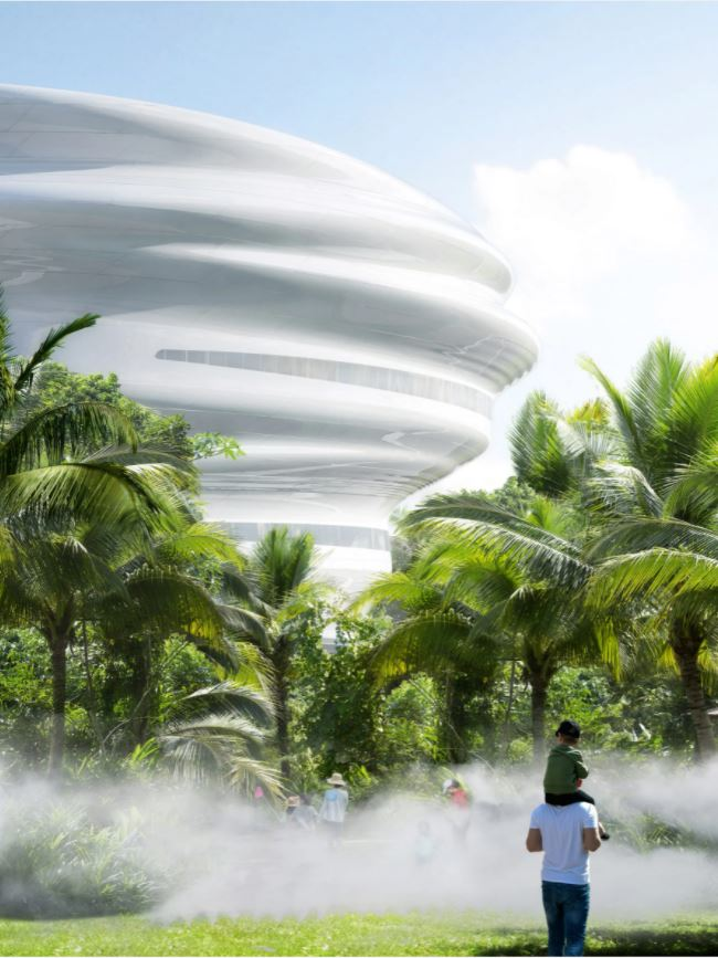 Hainan science and technology museum Haikou 2