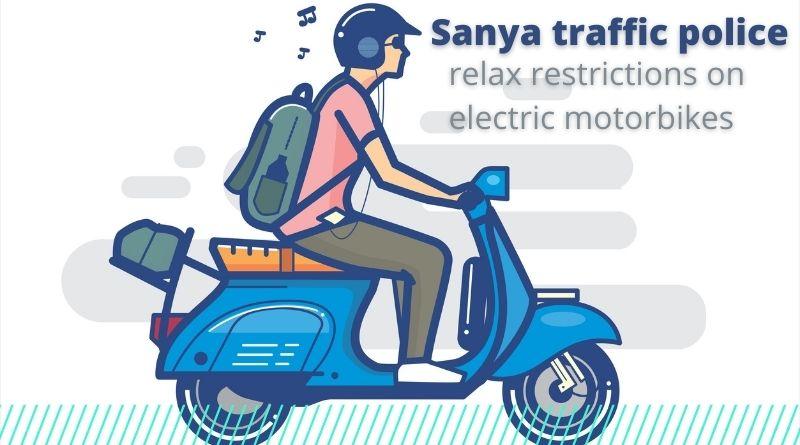 Sanya relax ebike restrictions