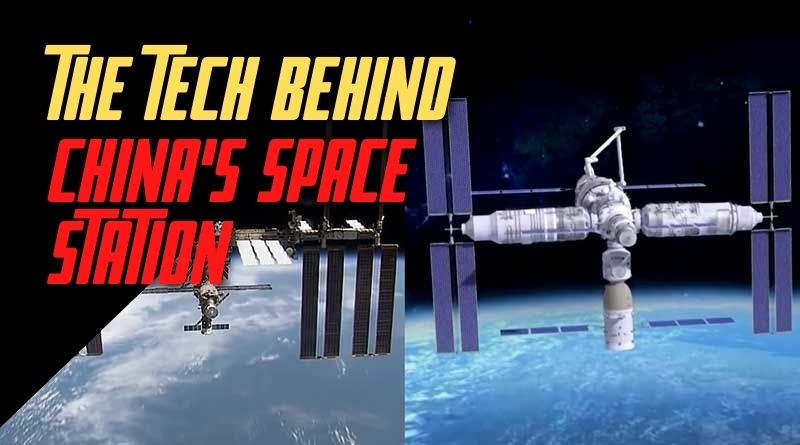 the tech behind China's Space station 2