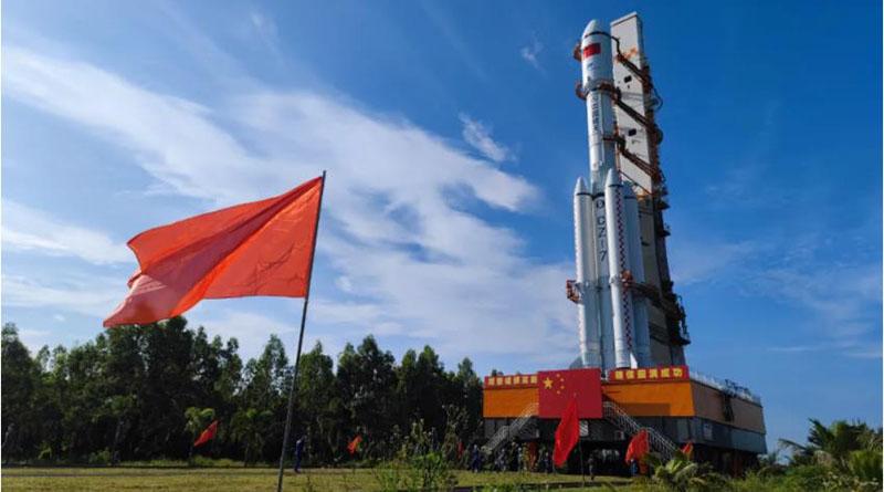 Tianzhou 3 rocket launch