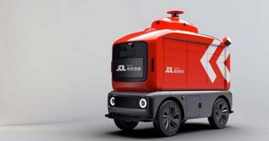 Autonomous delivery vehicles Hainan