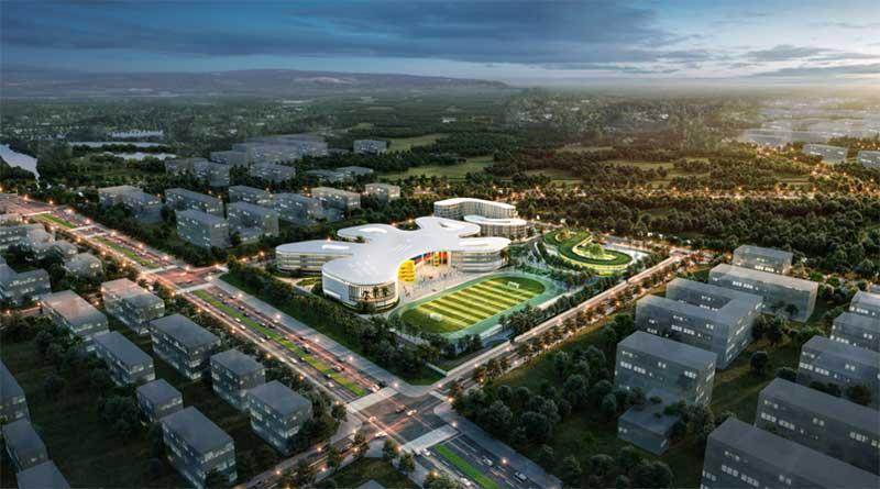Haikou-Jiangdong-Huandao-Experimental-School-will-start-next-fall
