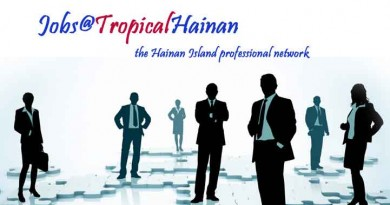 Jobs in Hainan Island