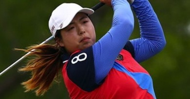 Shanshan Feng leads Blue Bay LPGA after 3 rounds